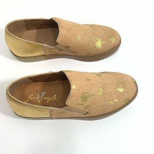 💥FreePeople Calf Leather Sz37 Women Sneakers NWOB